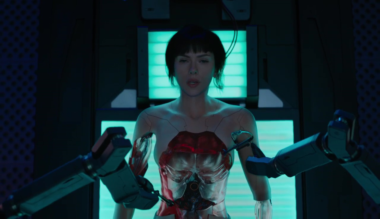 Ghost In The Shell 720p Lat-Cast-Ing 5.1 (2017)