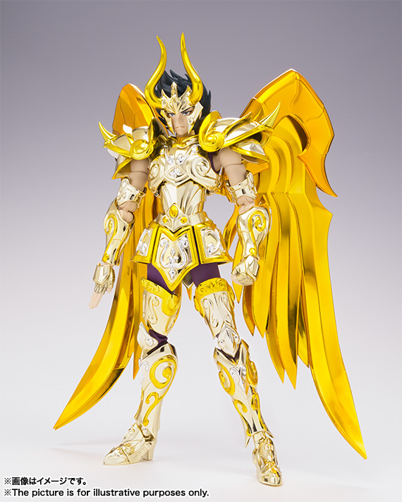 [Myth Cloth EX] Soul of Gold - Capricorn Shura Gold Cloth CL0Ug8At