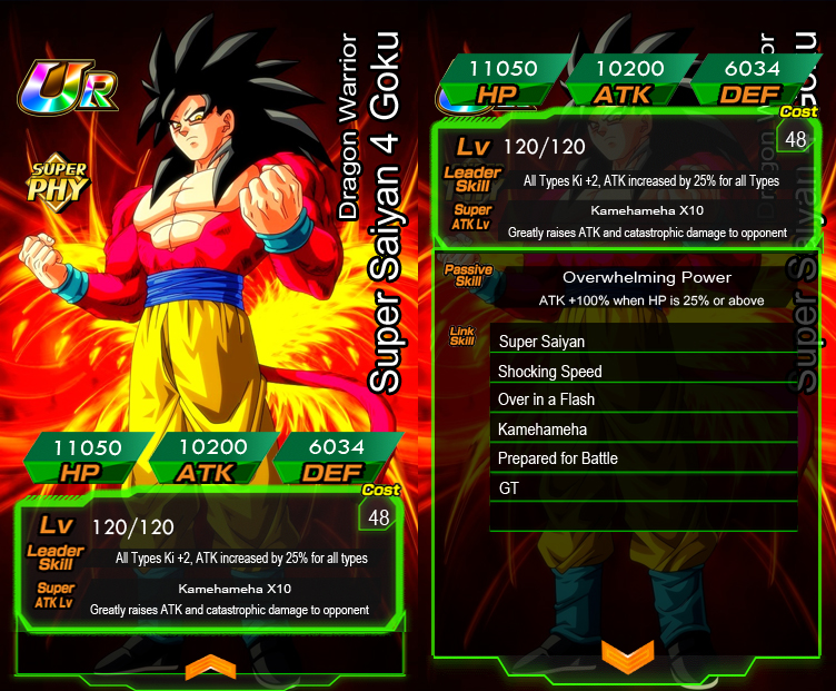 Updated fake card template (Now with page for passive and links