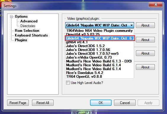 plugins para project64 1.6