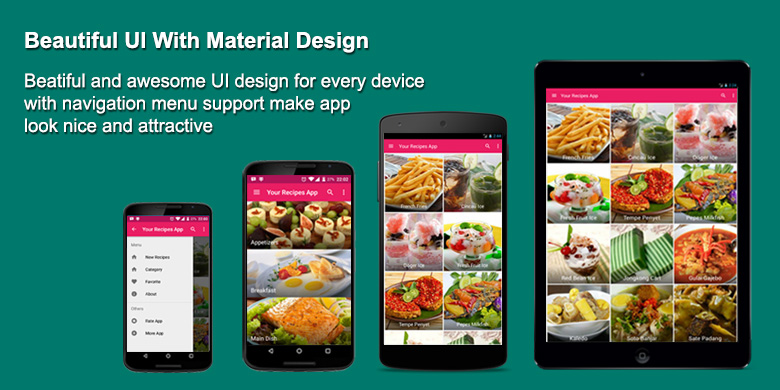 Your recipes app by solodroid codecanyon your recipes app forumfinder Images