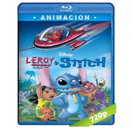 Leroy Y Stitch (2006) BRRip Full 1080p Audio Trial Latino-Castellano-Ingles 5.1