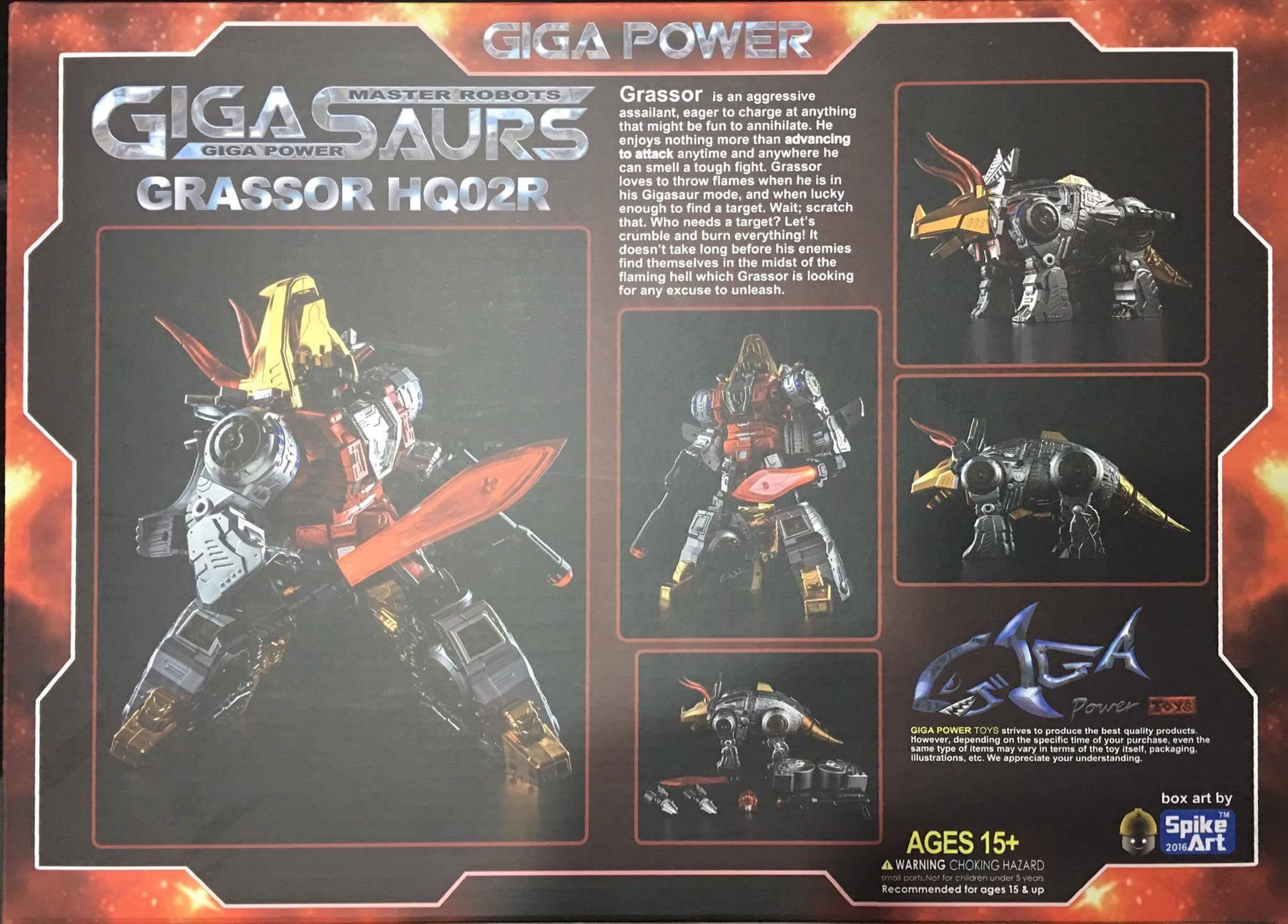 [GigaPower] Produit Tiers - Jouets HQ-01 Superator + HQ-02 Grassor + HQ-03 Guttur + HQ-04 Graviter + HQ-05 Gaudenter - aka Dinobots - Page 4 SxxKRvNI