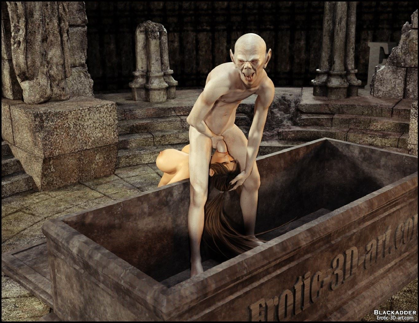 Lara croft fuck by monster 3dsexsins hentia scenes