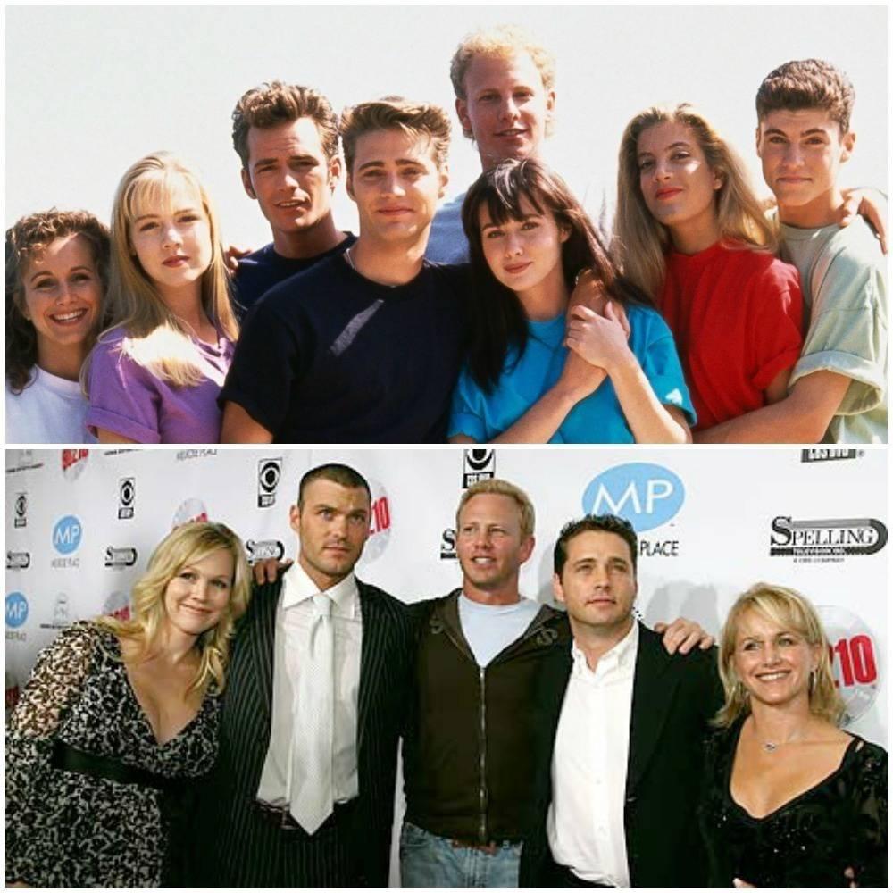 25 elencos antes y despues
