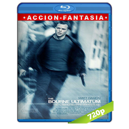 Bourne El Ultimatum [2007][BD-Rip][720p][Lat-Cas][Accion]