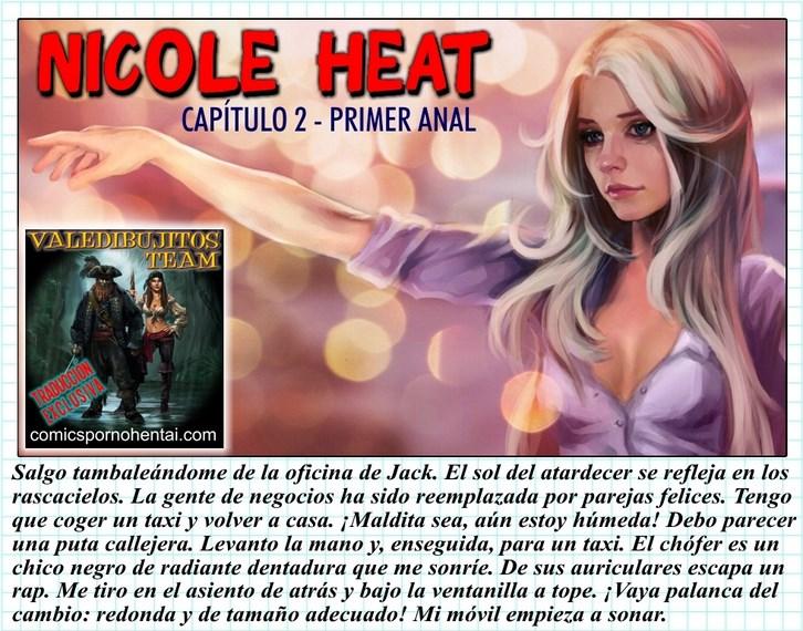 cómic porno Nicole Heat 2