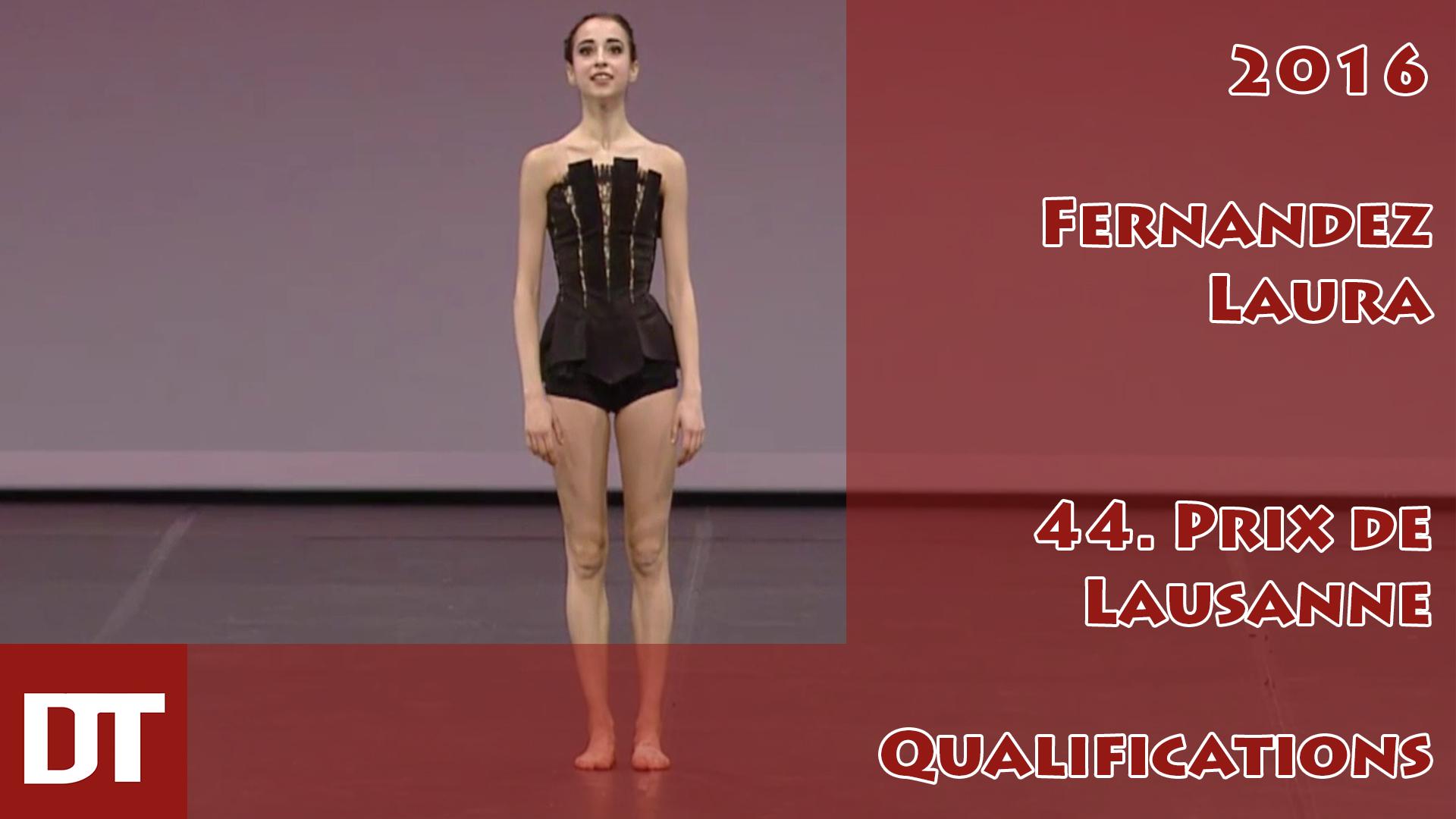 2016 – Fernandez Laura – 44. Prix de Lausanne – Qualifications