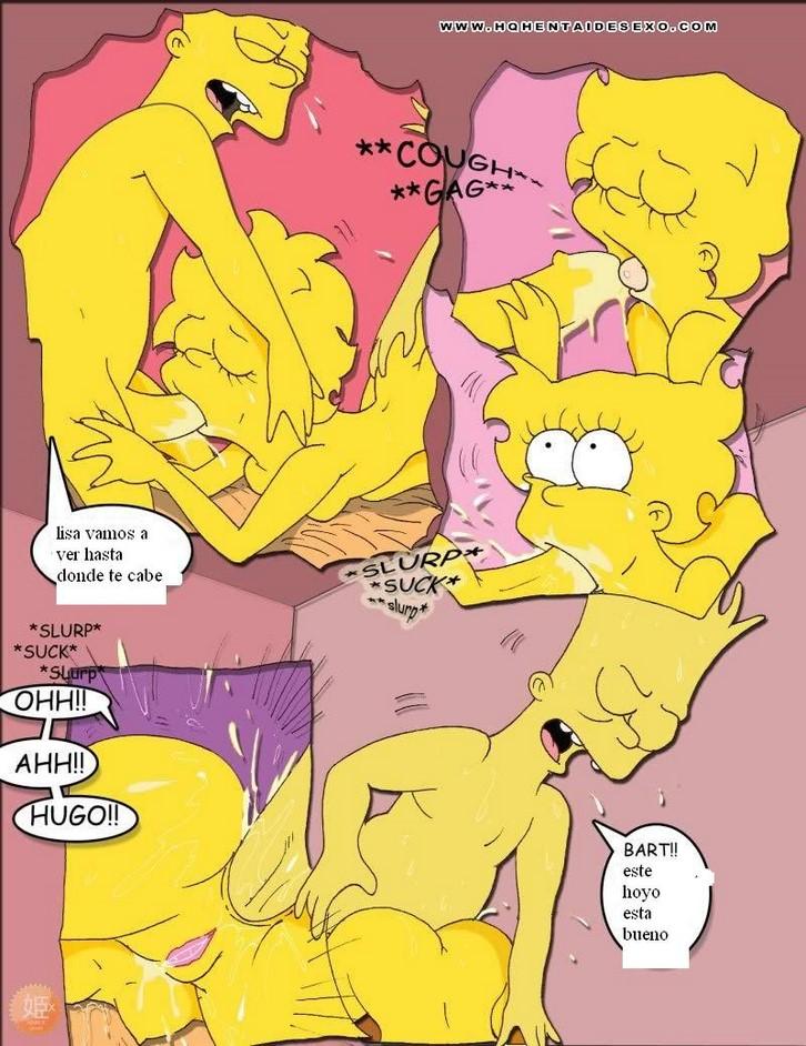 голая лиза симпсон порно
