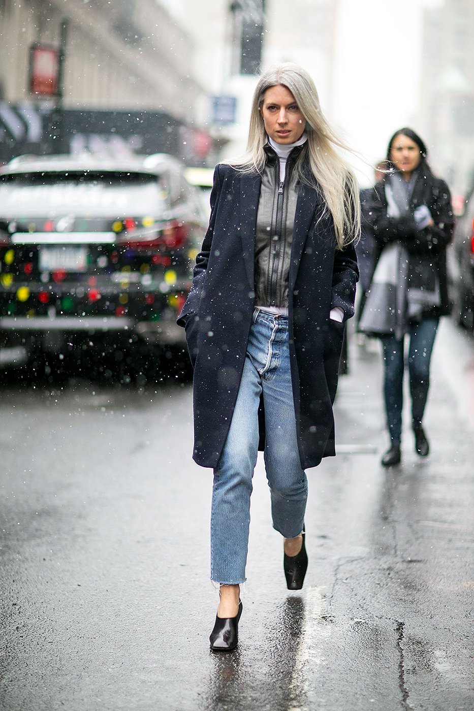 How to wear cropped jeans NYFW Fall/Winter 2016 pic 16