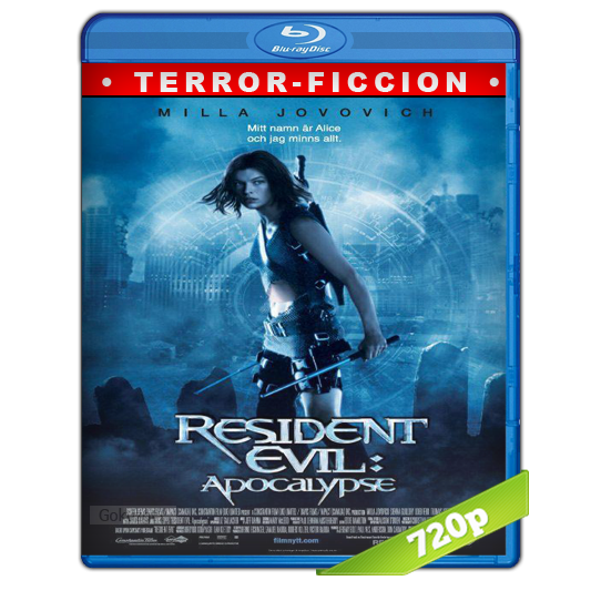 Resident Evil 2 Apocalipsis HD720p Lat-Cast-Ing 5.1 (2004)