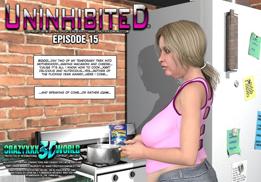 3d comic uninhibited episodes 1719 3