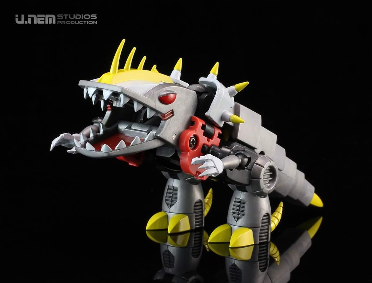 Produit Tiers: [Corbot V] CV-002 Mugger - aka Allicon | [Unique Toys] G-02 Sharky - aka Sharkticon/Requanicon W8YMb0pM