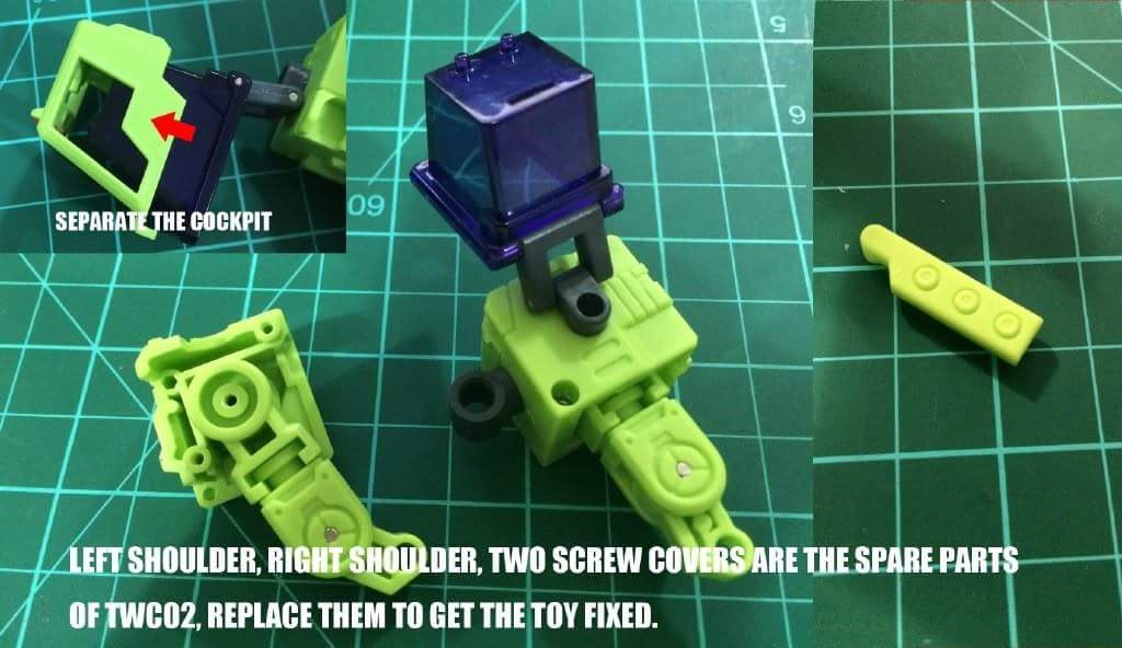 [Toyworld] Produit Tiers - Jouet TW-C Constructor aka Devastator/Dévastateur (Version vert G1 et jaune G2) - Page 5 RLZq9hdY
