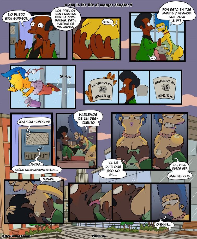 Un día en la vida diaria de Marge Simpson 2