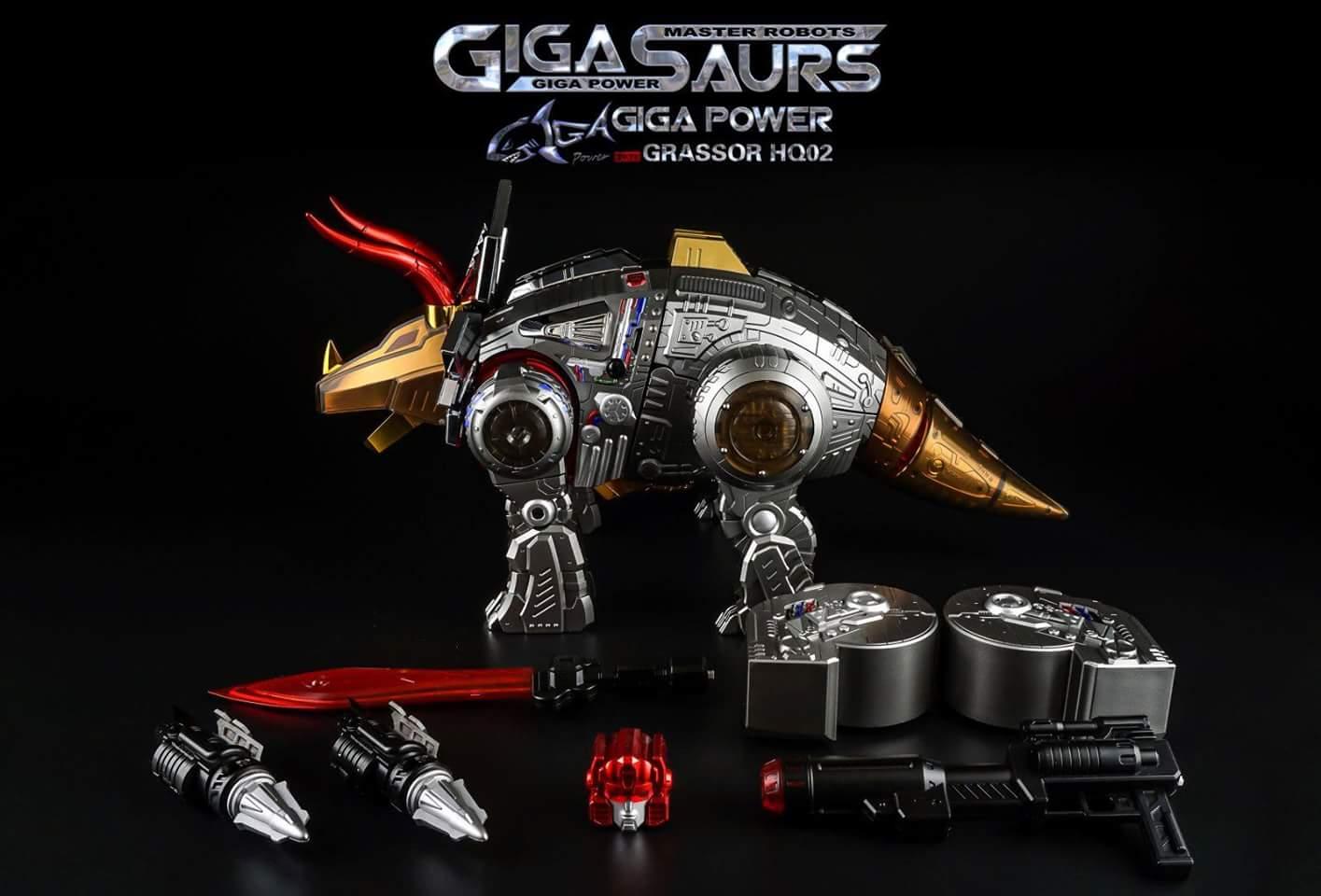[GigaPower] Produit Tiers - Jouets HQ-01 Superator + HQ-02 Grassor + HQ-03 Guttur + HQ-04 Graviter + HQ-05 Gaudenter - aka Dinobots - Page 4 VBzmJ4xM
