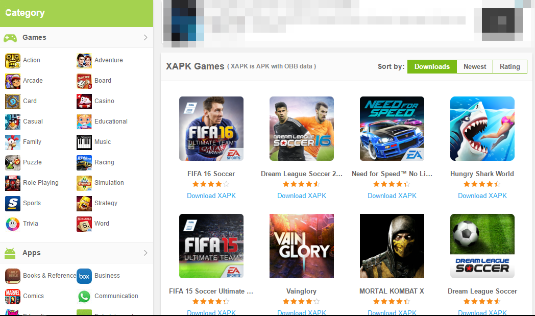 install xapk di android_category