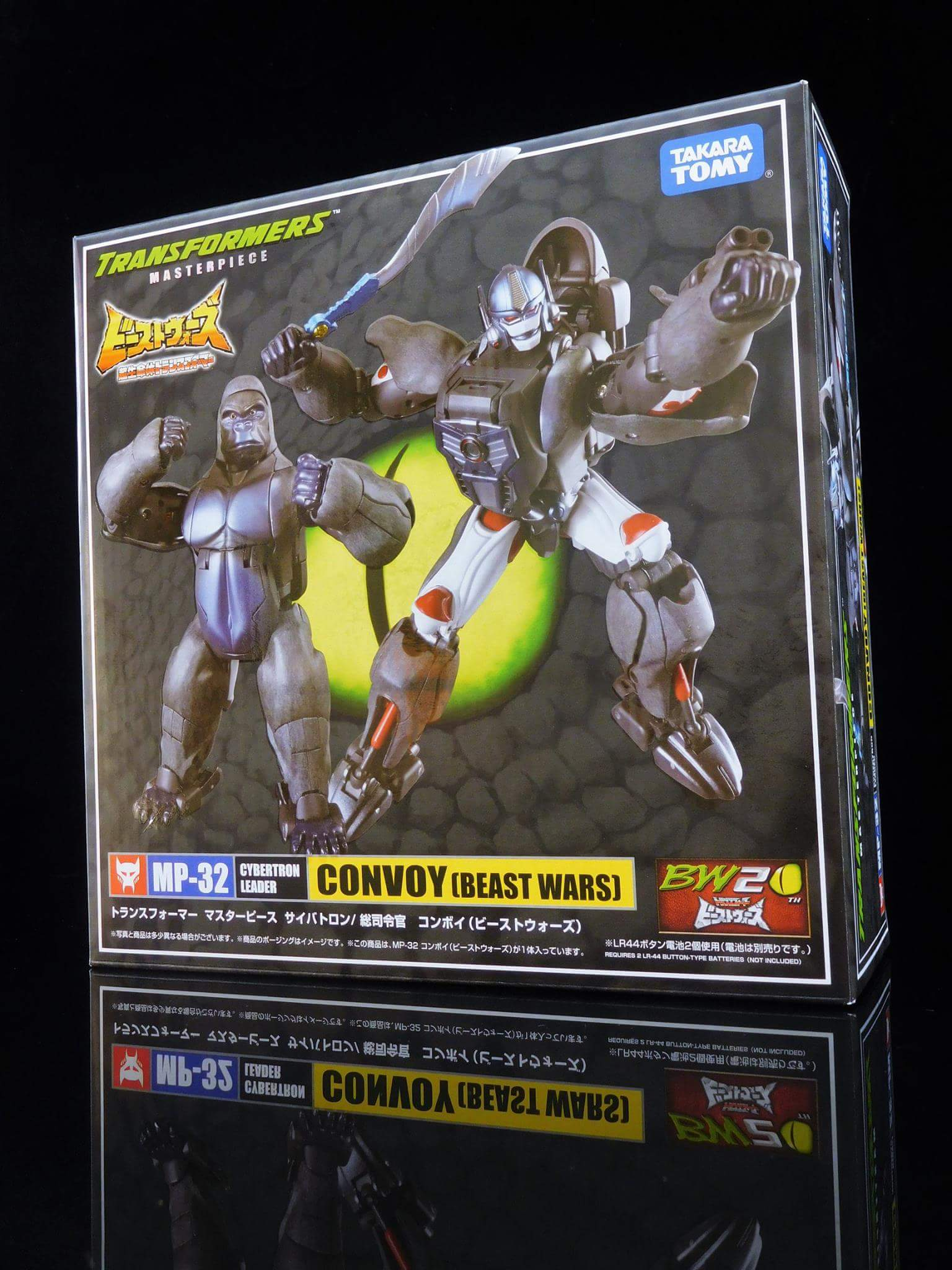 [Masterpiece] MP-32, MP-38 Optimus Primal et MP-38+ Burning Convoy (Beast Wars) - Page 3 PDnAzNfp