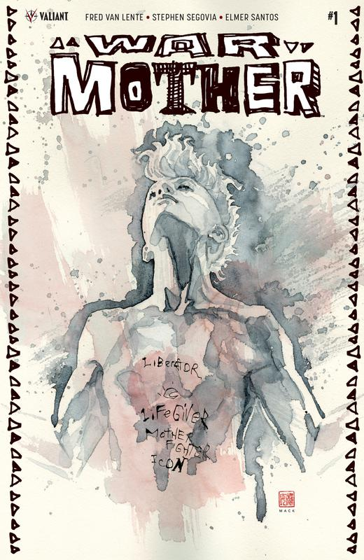 War Mother #1-4 (of 04) (2017) Complete