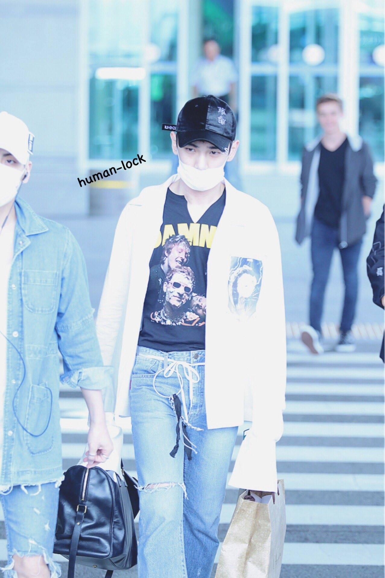 [IMG/160718] Onew, Jonghyun, Key, Minho @Aeropuerto de Kansai e Incheon (Jap-Cor) RKcdL5mX