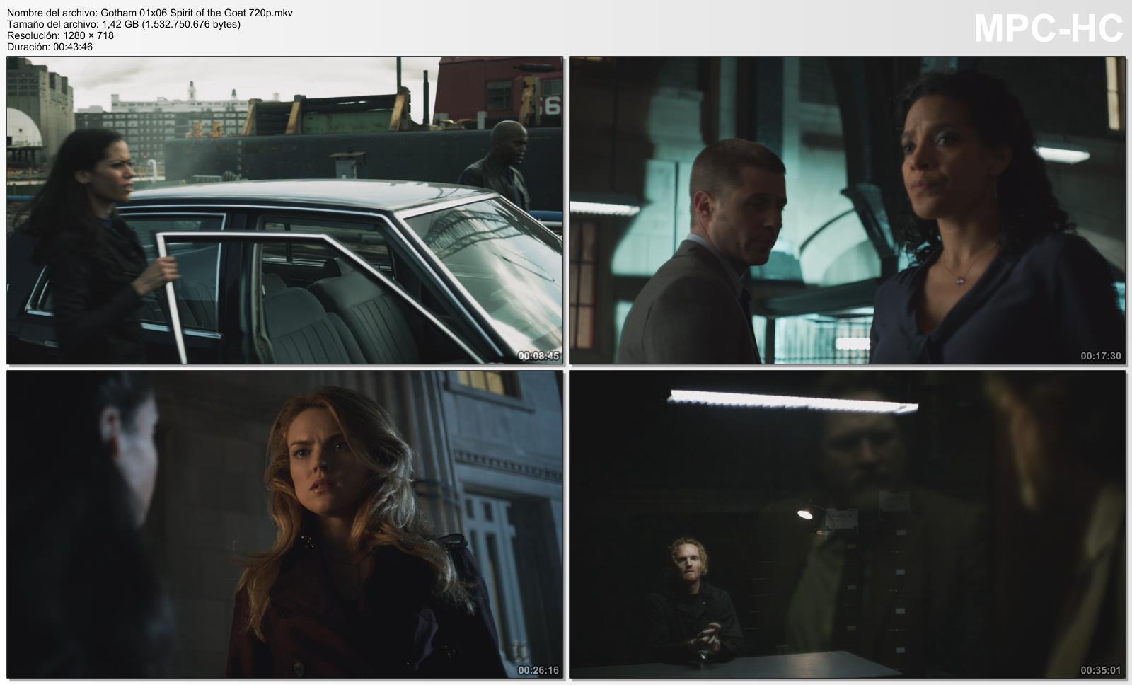 Gotham temporada 1 6 16 720p hdtv identi Gotham temporada 3 espanol