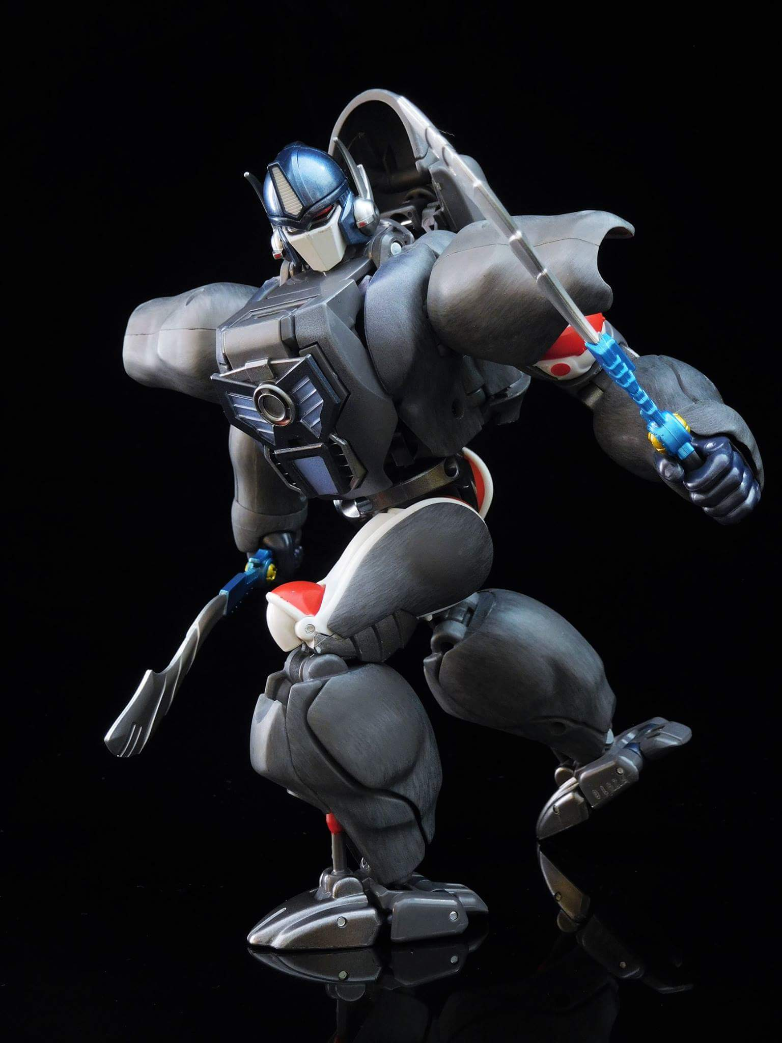 [Masterpiece] MP-32, MP-38 Optimus Primal et MP-38+ Burning Convoy (Beast Wars) - Page 3 AwRZyMpQ