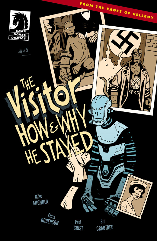 The Visitor - How and Why He Stayed #1-5 (2017) Complete