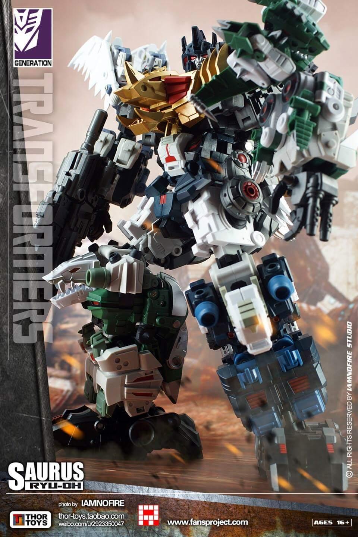[FansProject] Produit Tiers - Jouet Saurus Ryu-oh aka Dinoking (Victory) | Monstructor (USA) - Page 2 BEgLETjU