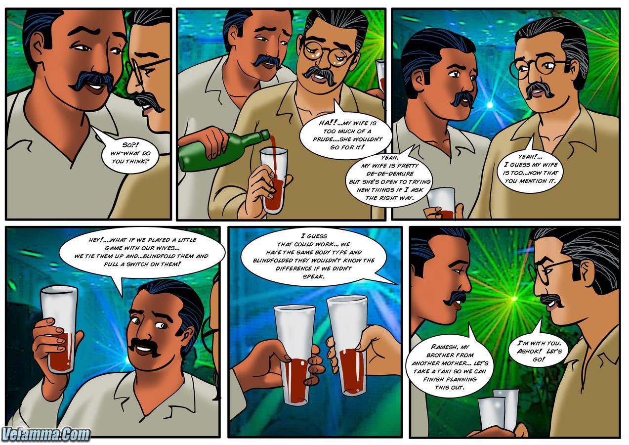 Velamma - Savita Bhabhi and Velamma in the same Comic 36 ...