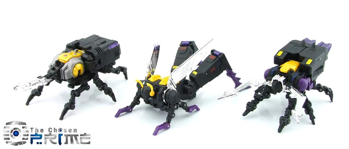[Fanstoys] Produit Tiers - Jouet FT-12 Grenadier / FT-13 Mercenary / FT-14 Forager - aka Insecticons - Page 3 MfTZUQi4
