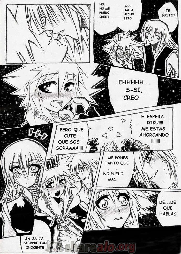 [ Unknown Kingdom Hearts Yaoi Doujin (Sora y Riku Sexo Caliente) ]: Comics Porno Manga Hentai [ XSpGCZRB ]