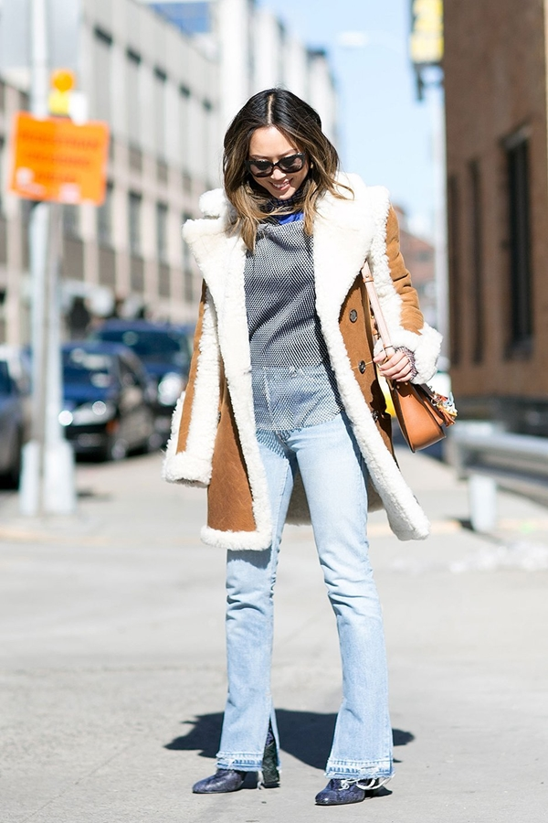 how to wear flared jeans, pic 7