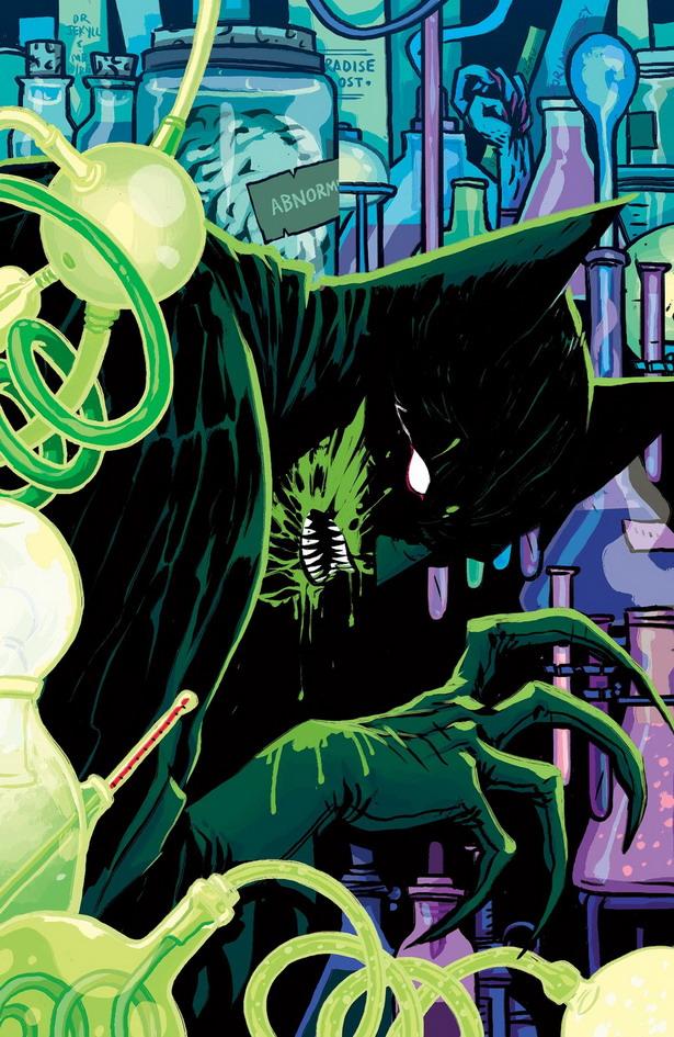 Batman un científico loco y monstruoso en Detective Comics nº35 por Becky Cloonan