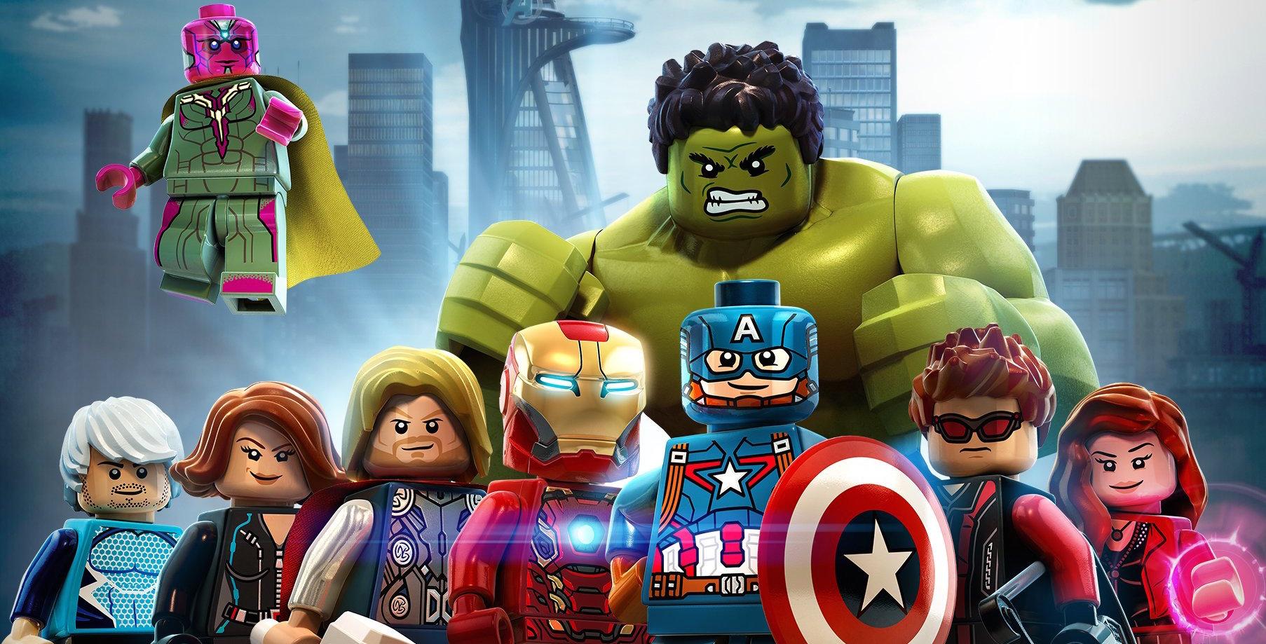 LEGO MARVEL'S AVENGERS Go To Civil War In New Trailer