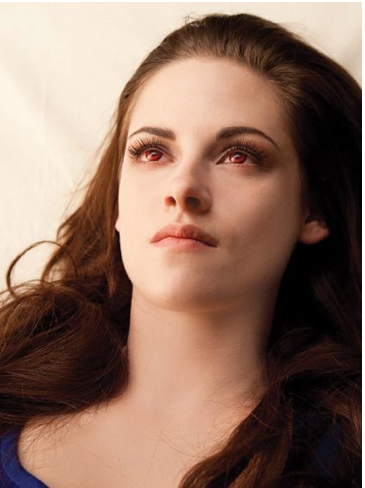Bella vampire dans album photo des cullens