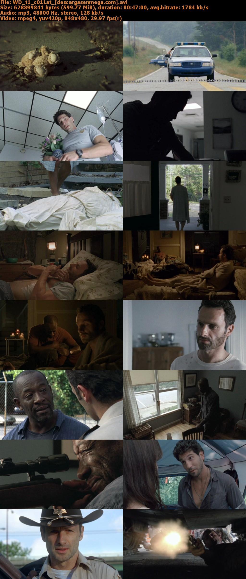 Capturas Walking Dead Temporada I