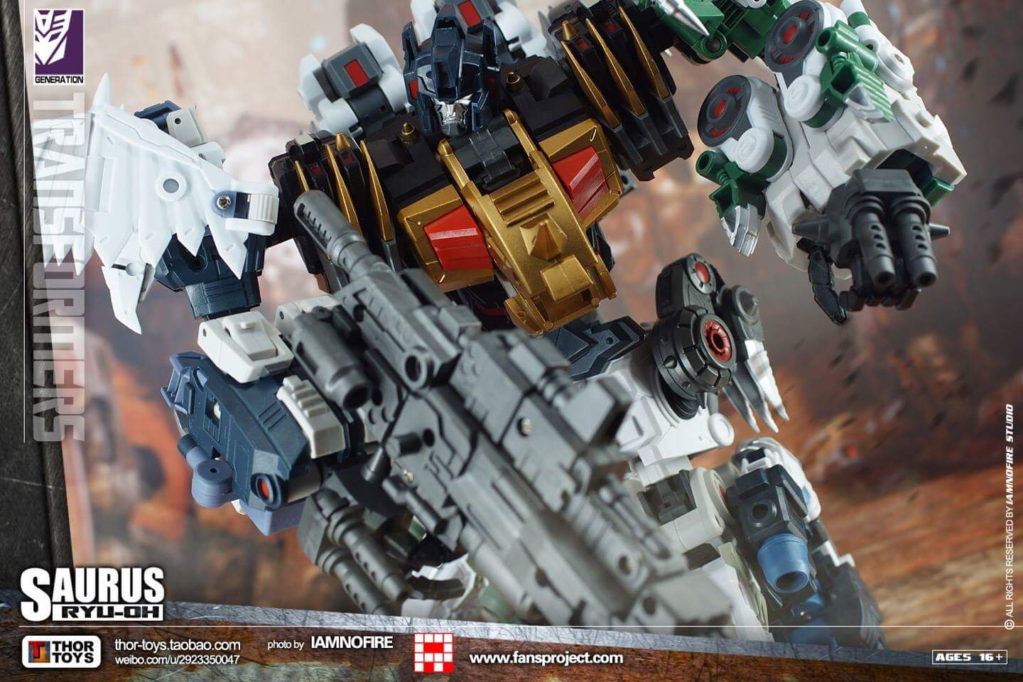 [FansProject] Produit Tiers - Jouet Saurus Ryu-oh aka Dinoking (Victory) | Monstructor (USA) - Page 2 9EEgBsrs