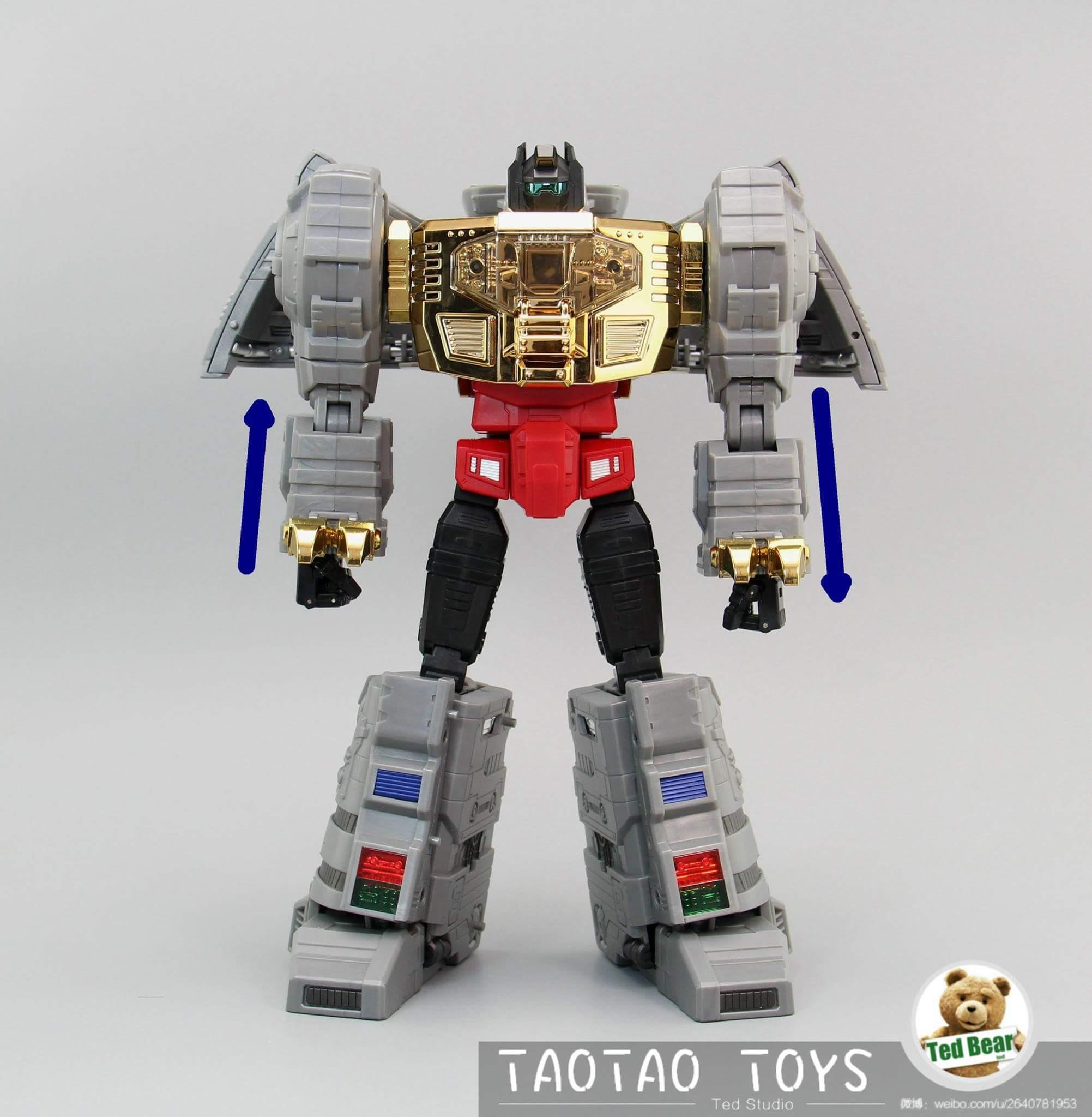 [Fanstoys] Produit Tiers - Dinobots - FT-04 Scoria, FT-05 Soar, FT-06 Sever, FT-07 Stomp, FT-08 Grinder - Page 10 KzJEmocA