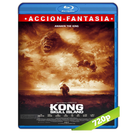 Kong La Isla Calavera (2017) BRRip Full 1080p Audio Trial Latino-Castellano-Ingles 5.1