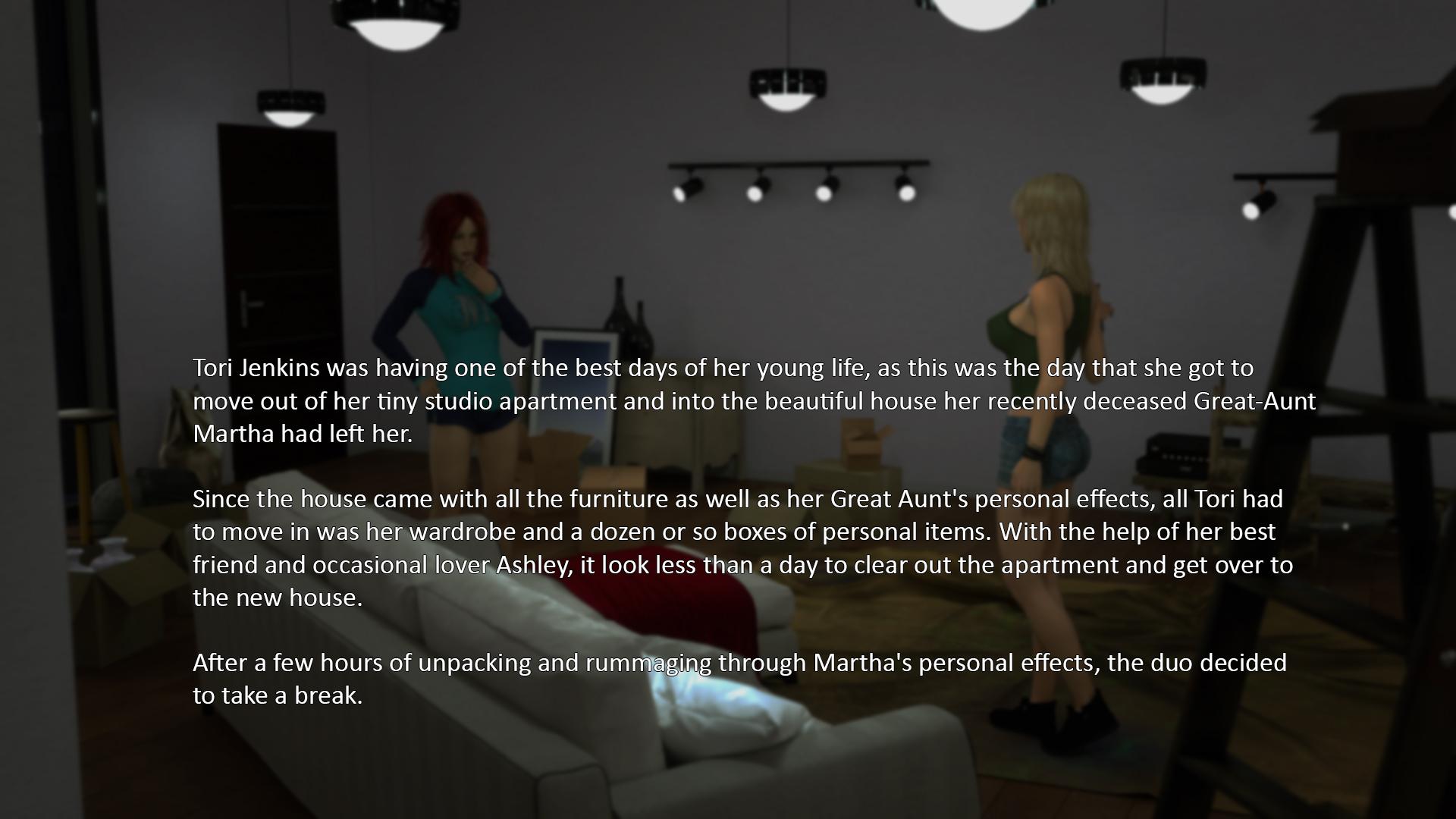 Preciosas lesbianas en el porno interactivo 4
