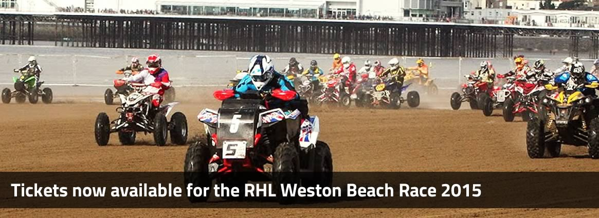 Tickets now available for the RHL Weston Beach Race 2015