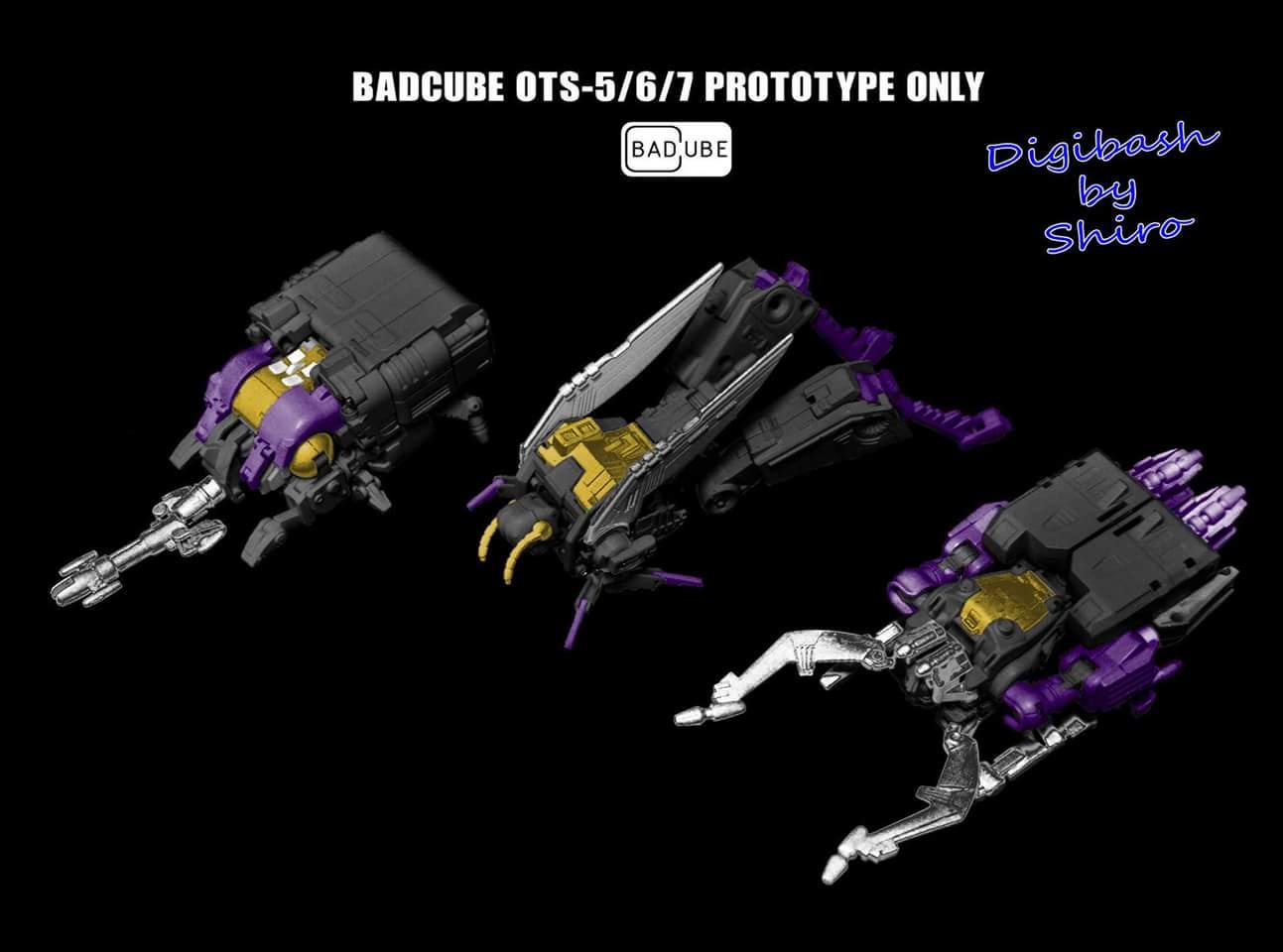 [BadCube] Produit Tiers - Jouet OTS-05 Claymore / OTS-06 Hypno / OTS-07 Kickbutt - aka Insecticons QUlVfOU6