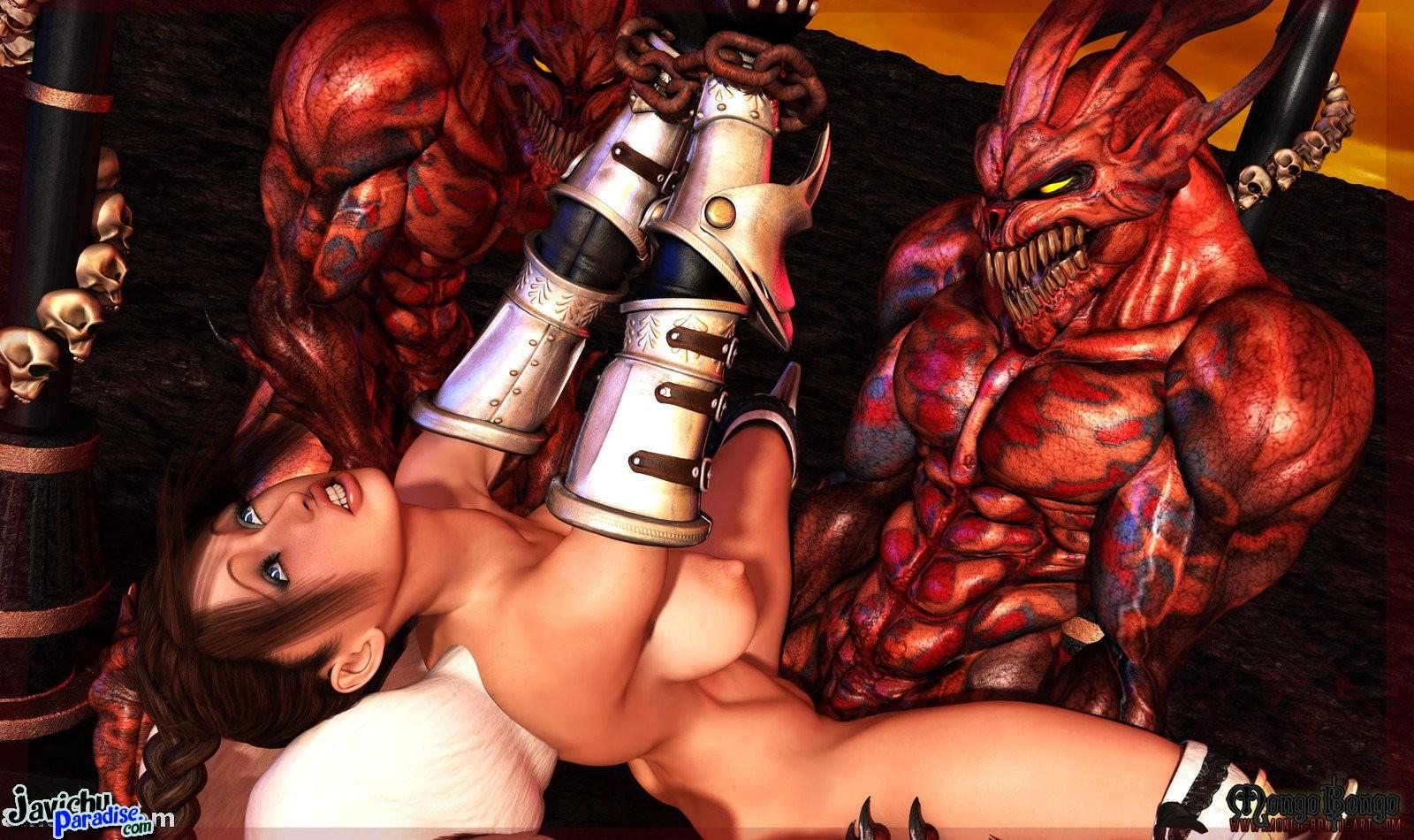 Смотреть порно онлайн бесплатно с демонами 20 фотография