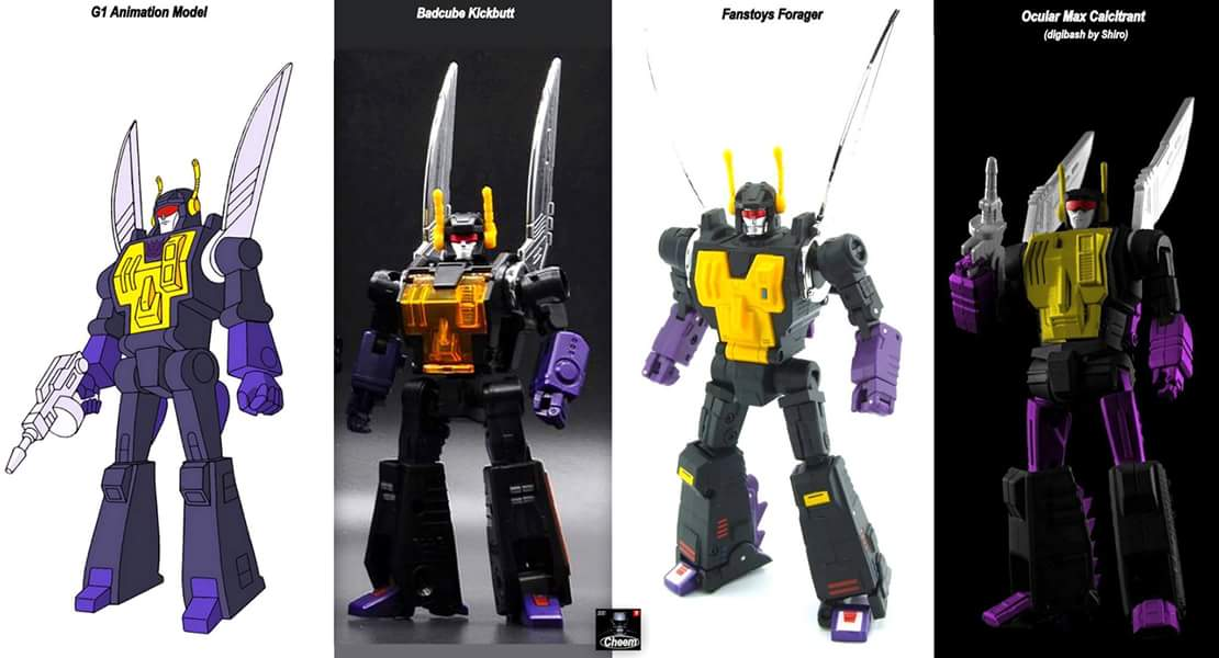 [Fanstoys] Produit Tiers - Jouet FT-12 Grenadier / FT-13 Mercenary / FT-14 Forager - aka Insecticons - Page 3 NBDw4W9M