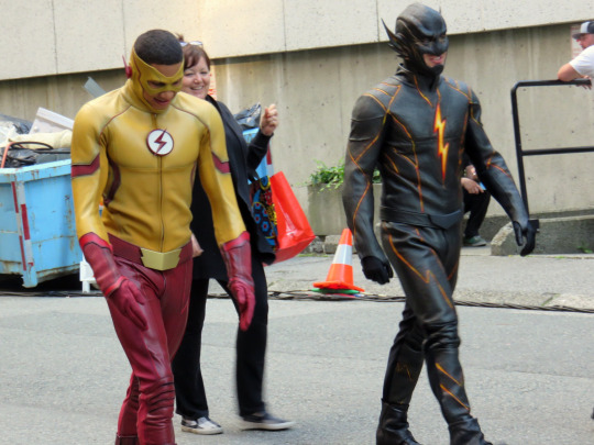 The Flash season 3 photos set