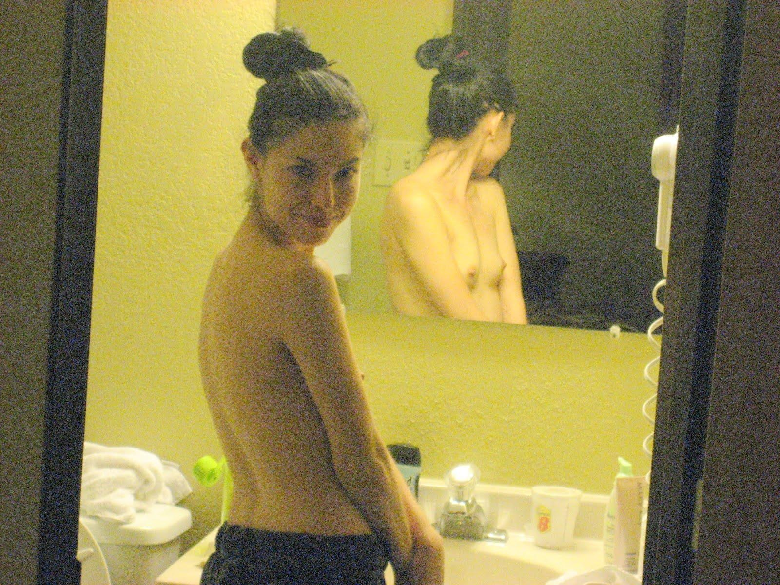 Bathroom latina naked pics agree, the