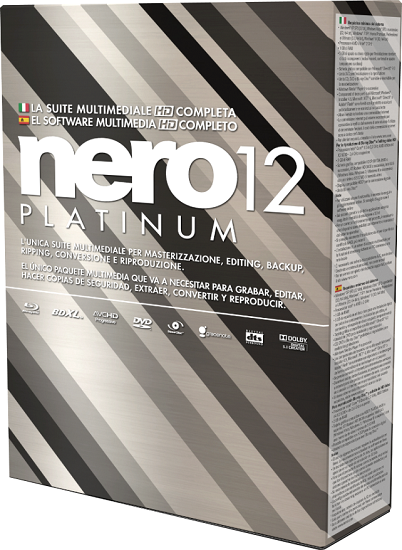 Nero 12 Platinum HD Full Español Limpio + Serial Tutorial