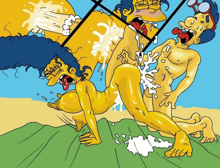 порно комикс мульт симпсоны