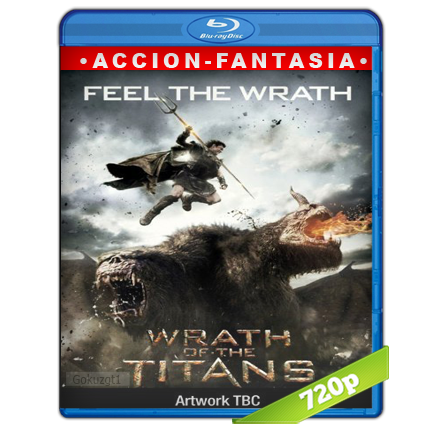 Furia De Titanes 2 (2012) BRRip 720p Audio Trial Latino-Castellano-Ingles 5.1