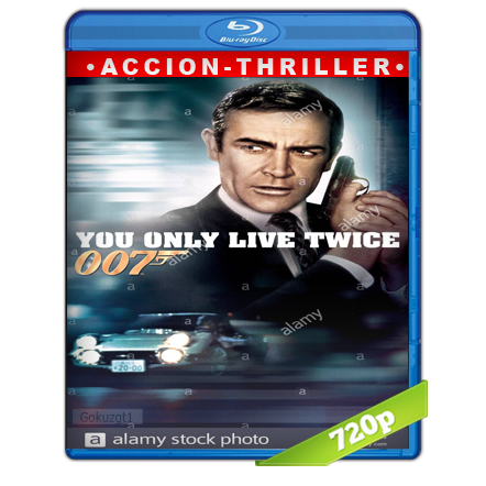 007 Solo Se Vive Dos Veces (1967) BRRip 720p Audio Trial Latino-Castellano-Ingles 5.1